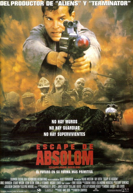 Escape from Absolom - Poster 2