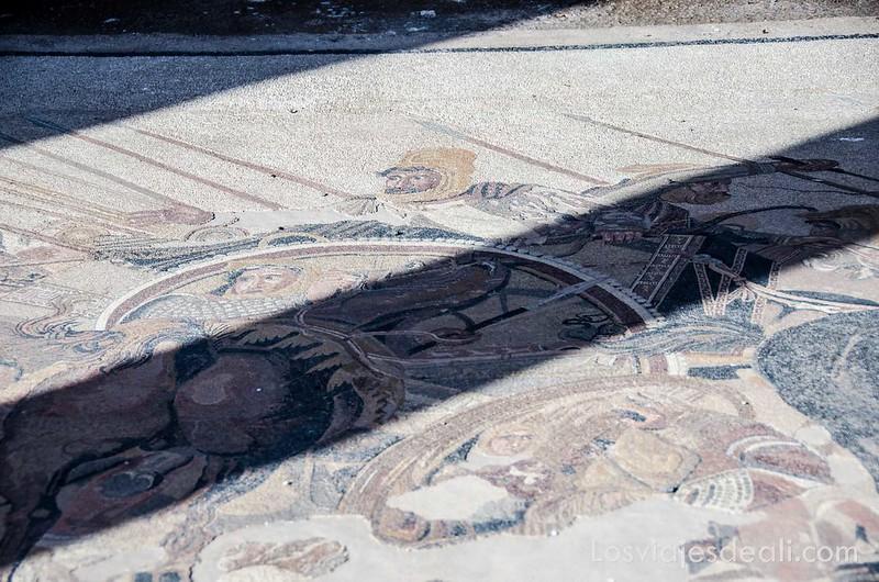 visita a Pompeya mosaico Alejandro Magno y Darío