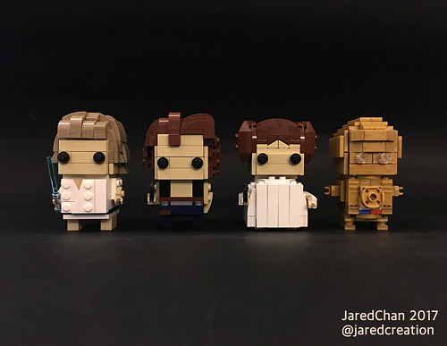 Star Wars Brickheadz (2017) | by Jared Chan