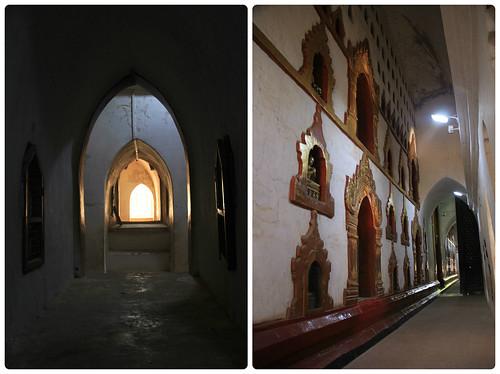 Inside Ananda Pahto temple