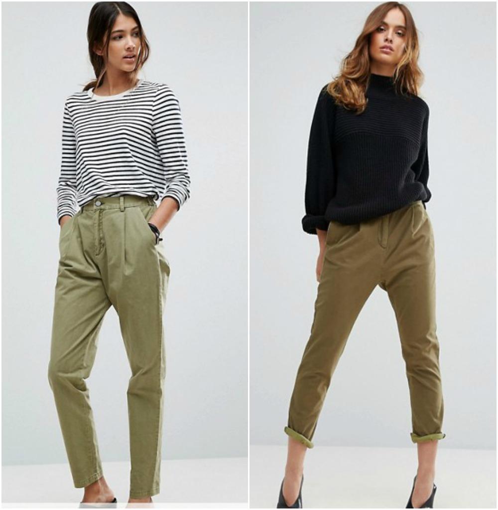 C mo combinar tu ropa pantalones verde militar - Colores que combinan con el verde botella ...