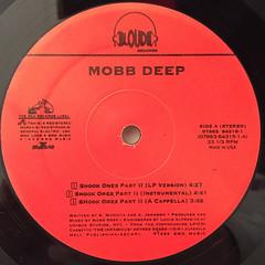 MOBB DEEP:SHOOK ONES PART II(LABEL SIDE-A)