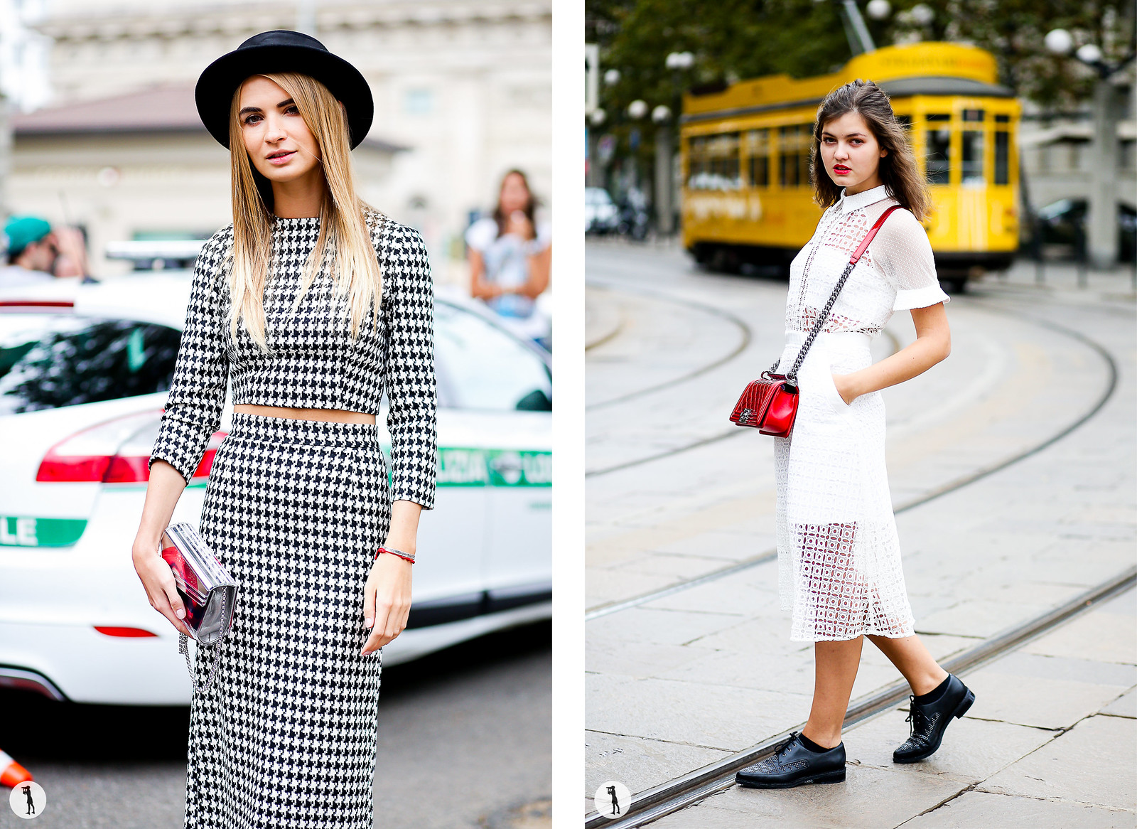 Street style - Milan Fashion Week SS15