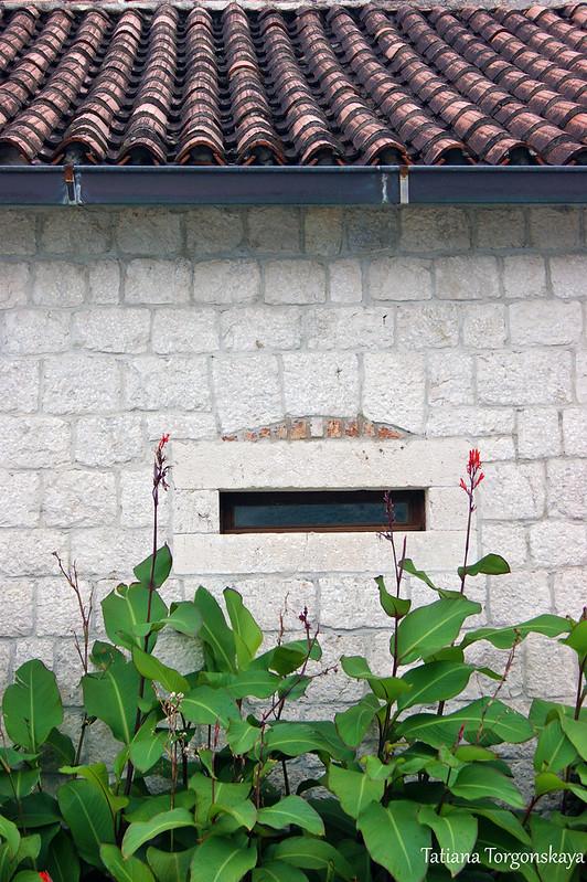 Окошко в стене дворца Центральной Комиссии