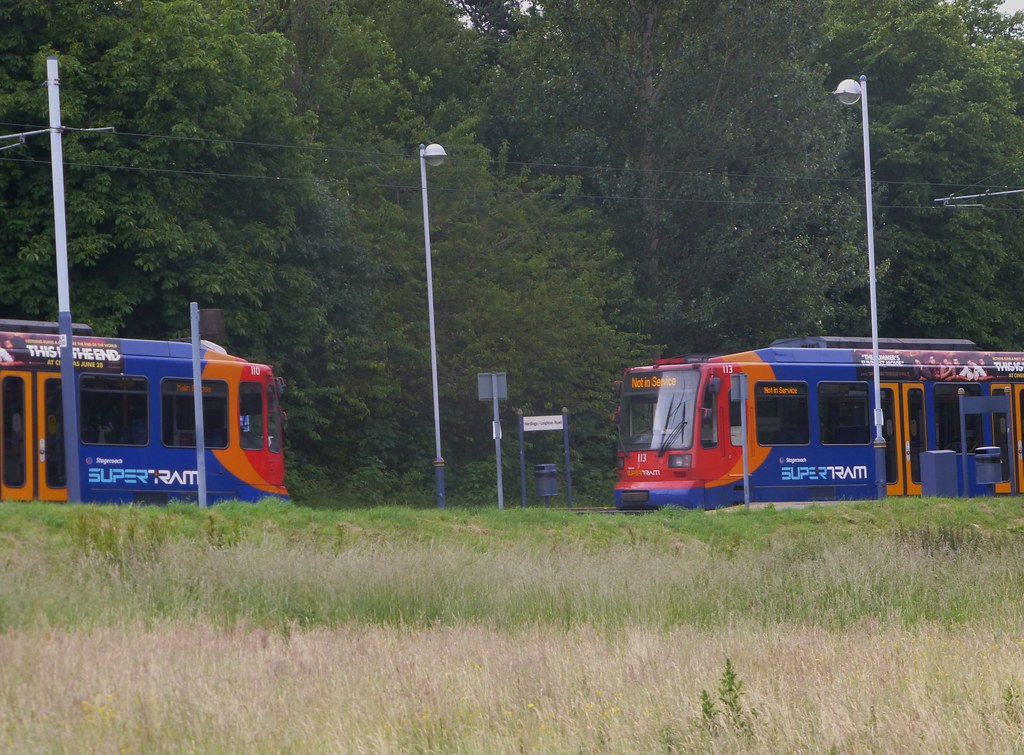Bikes banned from Sheffield-Rotherham trams in a blow for ...