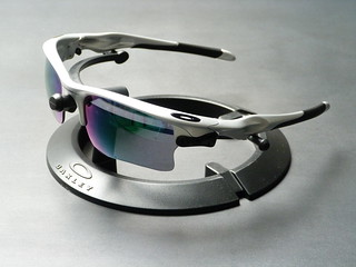 oakley fast jacket sunglasses silver  oakley fast jacket? xl silver w/jade iridium & blue iridium