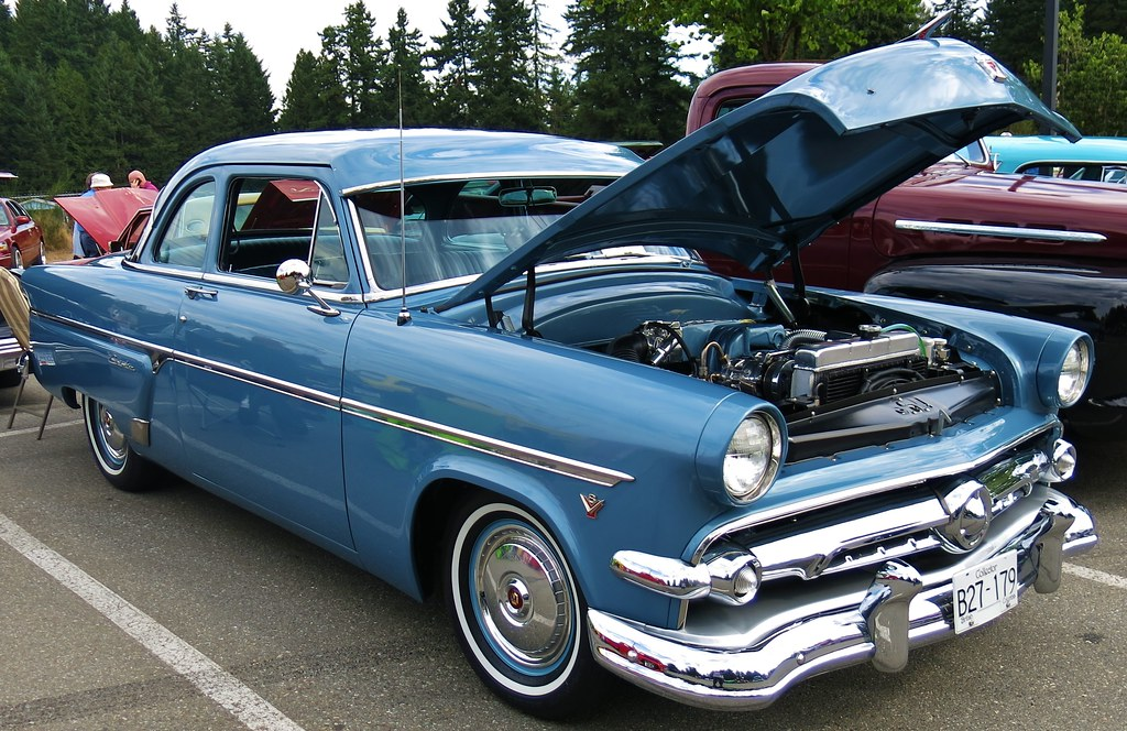 1954 Ford Customline Club Coupe  CustomCab  Flickr