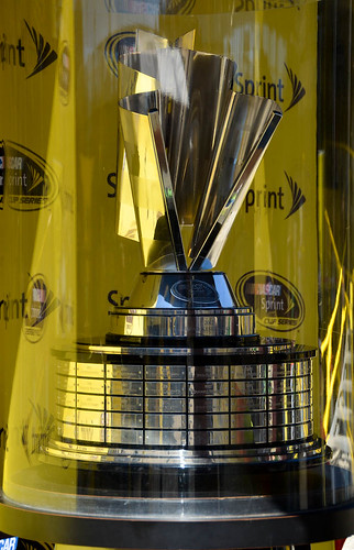 Nascar Sprint Cup Trophy Finally Getting Caught Up With