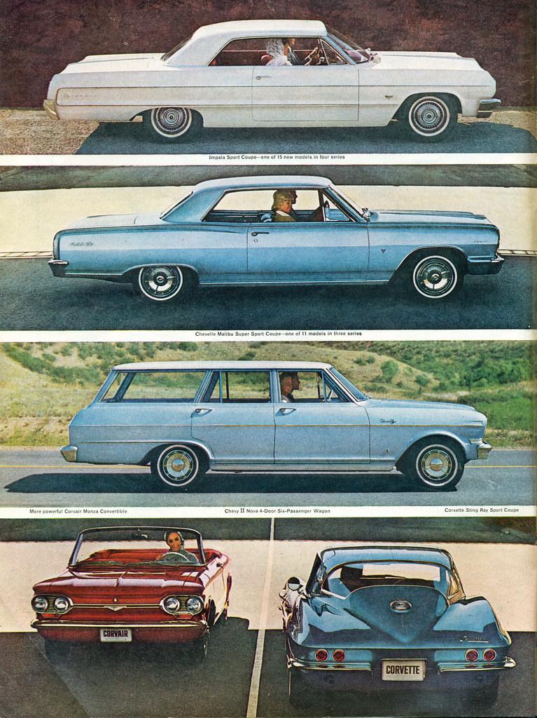 1964 Chevrolet Range Impala Sport Coupe Chevelle Malibu Super Nova Station