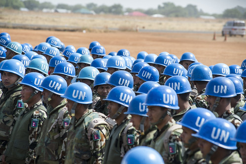 Contingent of Nepalese Peacekeepers Arrives in Juba from Haiti | by United Nations Photo