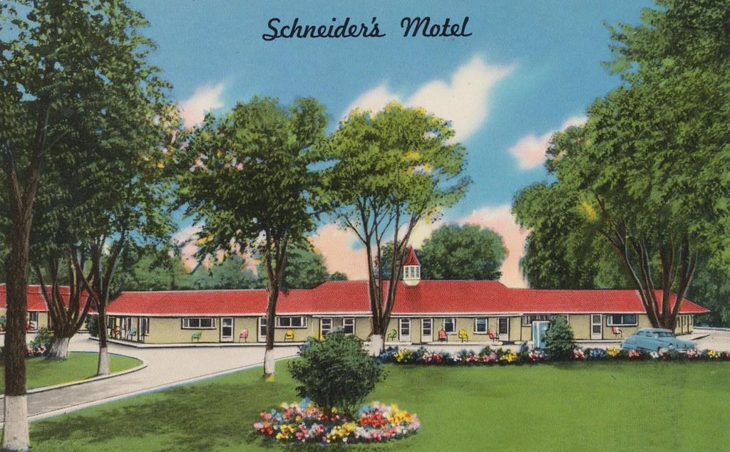 Schneider's Motel - Westlake, Ohio