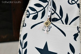 Weekender Bag Charm | by Saltwater Quilts