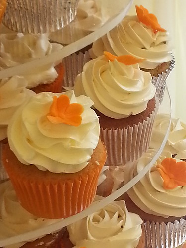 Various Cupcakes piped Italian Meringue Buttercream | by platypus1974