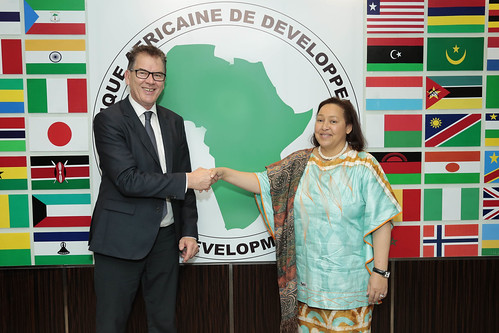 Visit of Minister Gerd Mueller to the AfDB, March 2nd, 2017