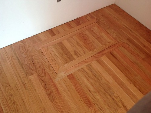 Hardwood Floors Inside Closet Crawl Space Access Flickr