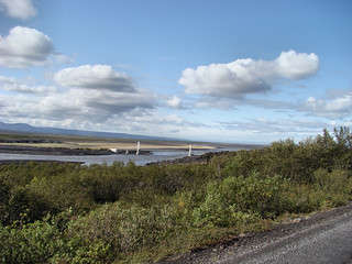 075 Brug over de Jökulsa in het noorden