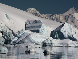 Icebergs at Foyn Harbour - Antarctic Peninsula | by Hannes Rada