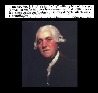 3rd January 1795 - Death of Josiah Wedgwood | by Bradford Timeline