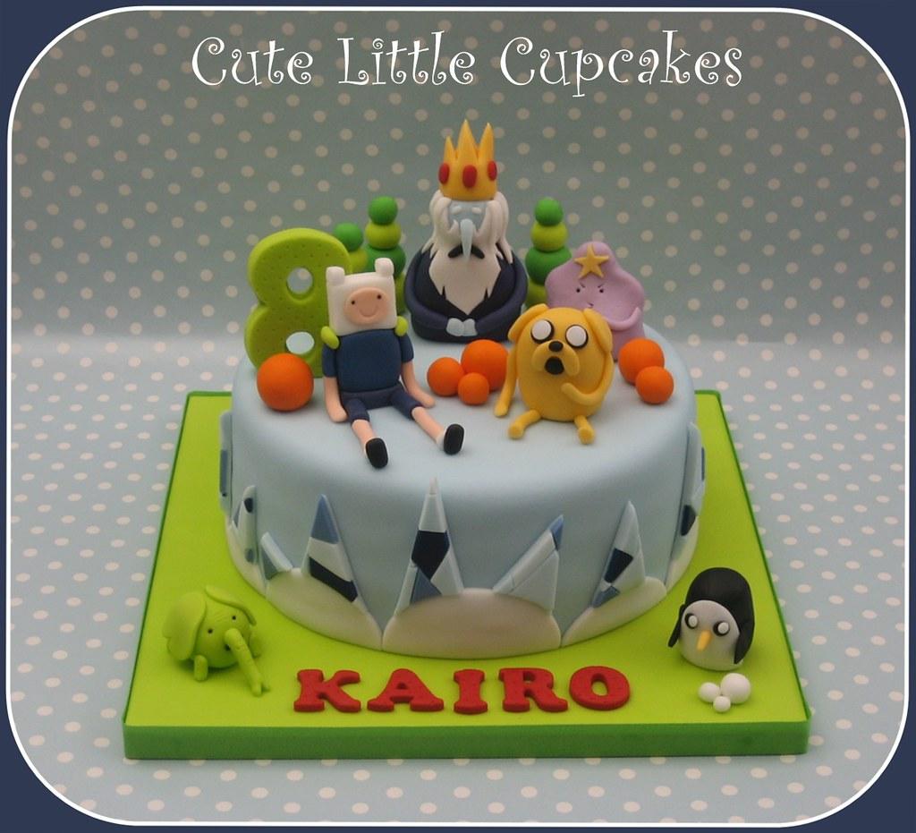Adventure Time Cake Heidi Stone Flickr