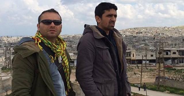 Massimiliano Voza sindaco di Santomenna (SA) in Siria