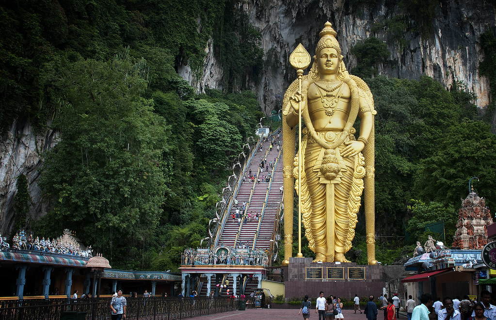 Lord Murugan statue @ Batu Caves