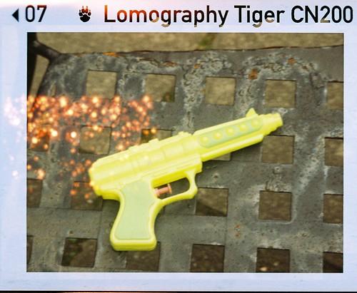 Leaky Water pistol