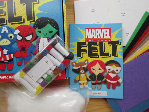 Marvel Felt kit