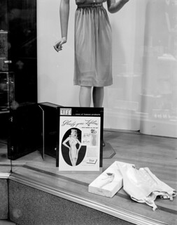 N_53_15_6793 Efirds Store Window Showing Girdles 1946 | by State Archives of North Carolina