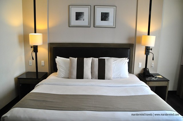 My King Bed at Seda Abreeza Deluxe Room