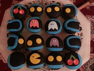 Pac-Man Cupcakes | by platypus1974
