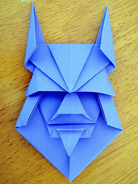 Origami Viking Warrior (Kunihiko Kasahara)