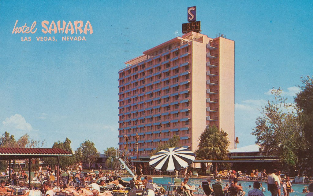 Hotel Sahara - Las Vegas, Nevada