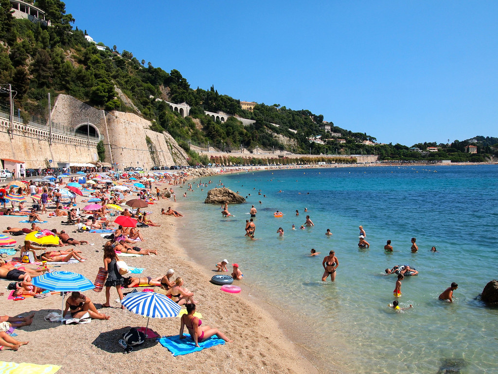 Image result for villefranche sur mer beach