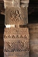 Cave 1. Ornamental Pillars (9)