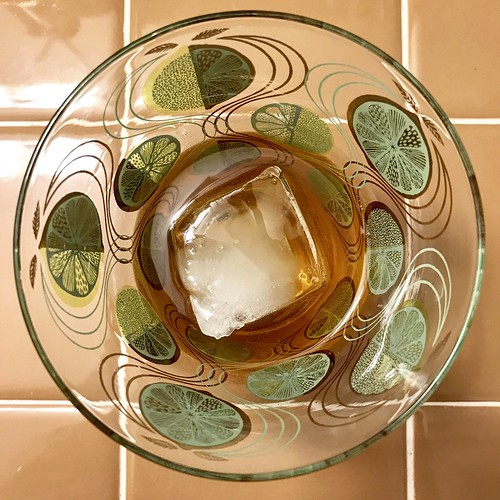 maple walnut rye fashioned (with homemade walnut bitters) #cocktail
