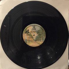THE FOUR SEASONS:WHO LOVES YOU(RECORD SIDE-B)