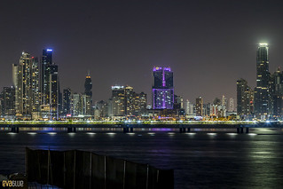 skyline night panama Pandemonio 2017 - 03 | by Eva Blue