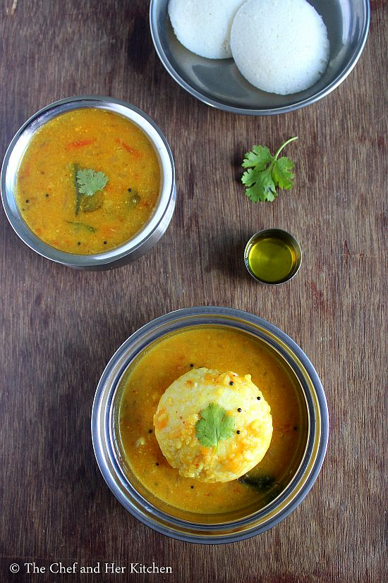 onion tomato goshtu with moong dal