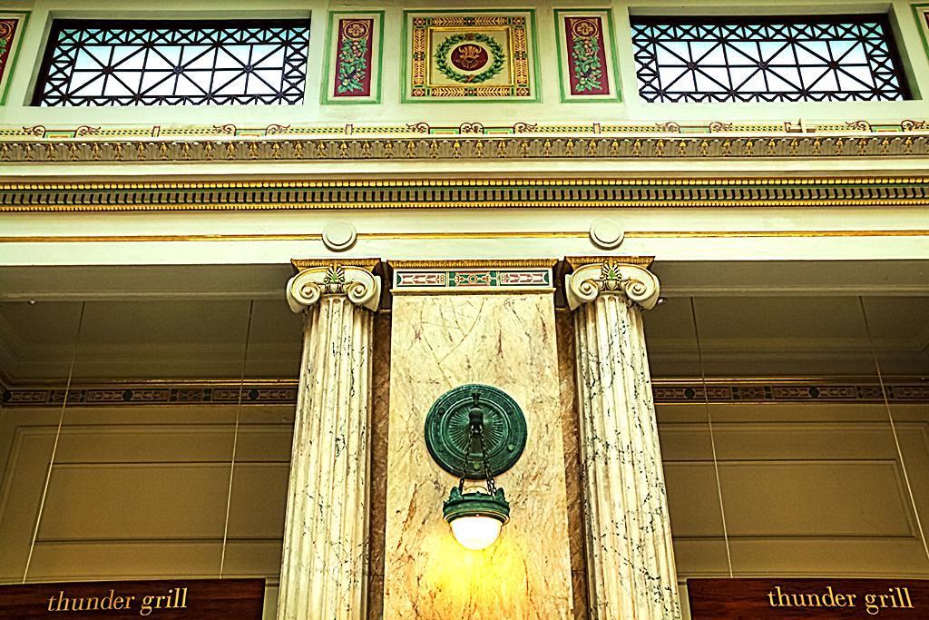 Ornate room at Union Station--Washington 2