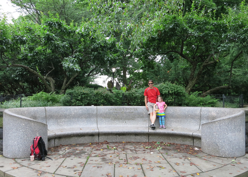 "Charles B Stover ""Whisper Bench"", Central Park"