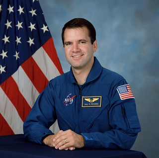 Astronaut Paul Richards, STS-102 mission specialist, NASA photo (25 July 2013) 9366433003_149b5100ce_n.jpg