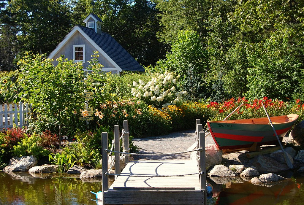 Coastal Maine Botanical Gardens - Boothbay | We got here aro… | Flickr