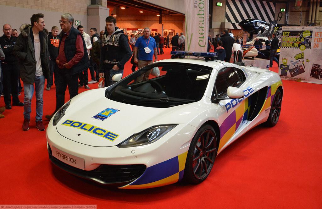 autosport international 2014 - mclaren mp4-12c police car | flickr