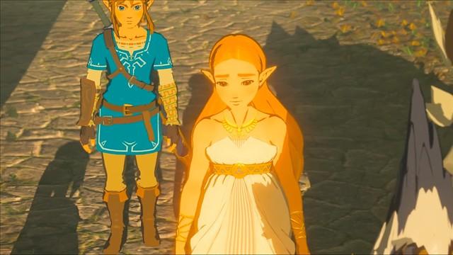 Legend of Zelda Breath of the Wild - Zelda's Failure