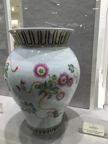 Meissen porcelain vase, Rustan's