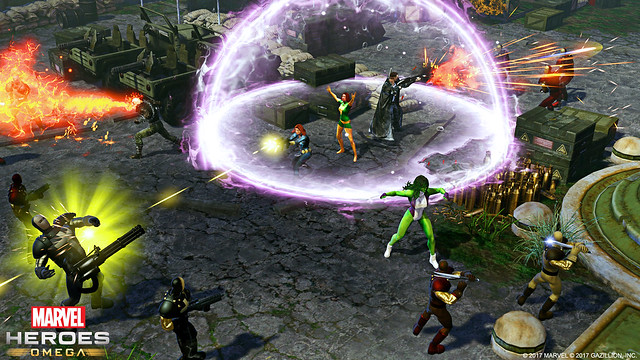 Marvel Heroes Omega Coming to PS4 This Spring – PlayStation Blog