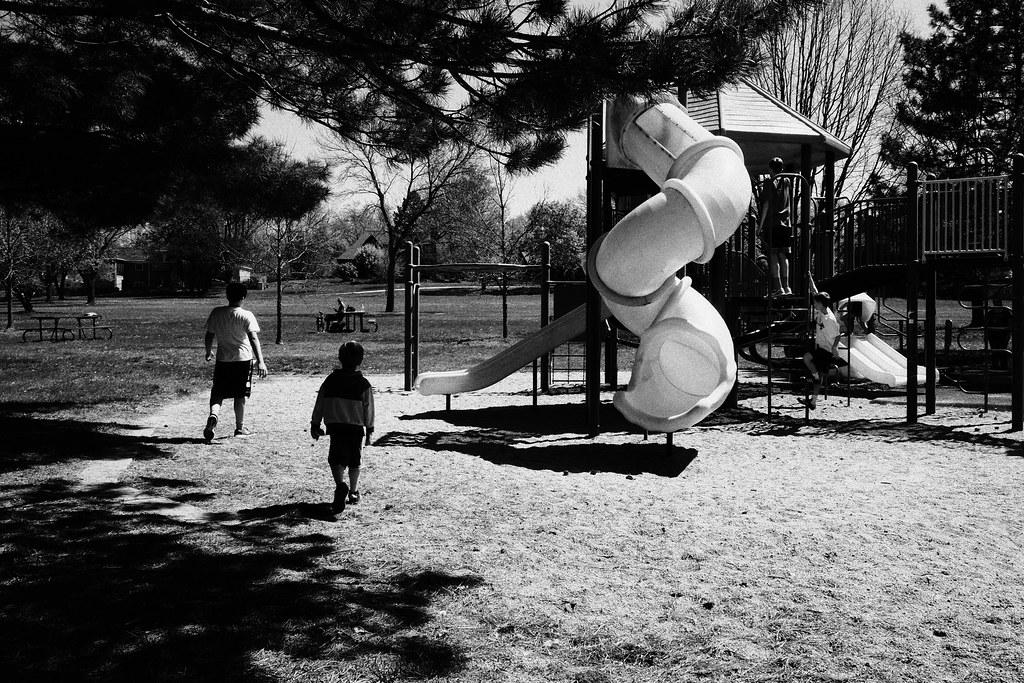 Playground, Trendwood Park, April 17, 2017
