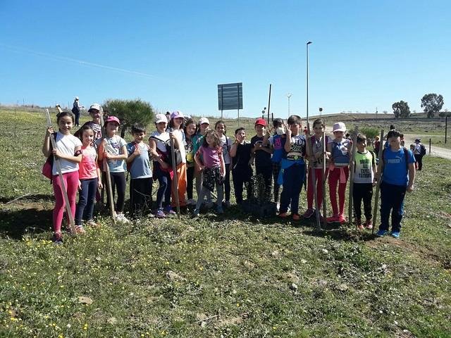 Plantando en Molano 2016/2017