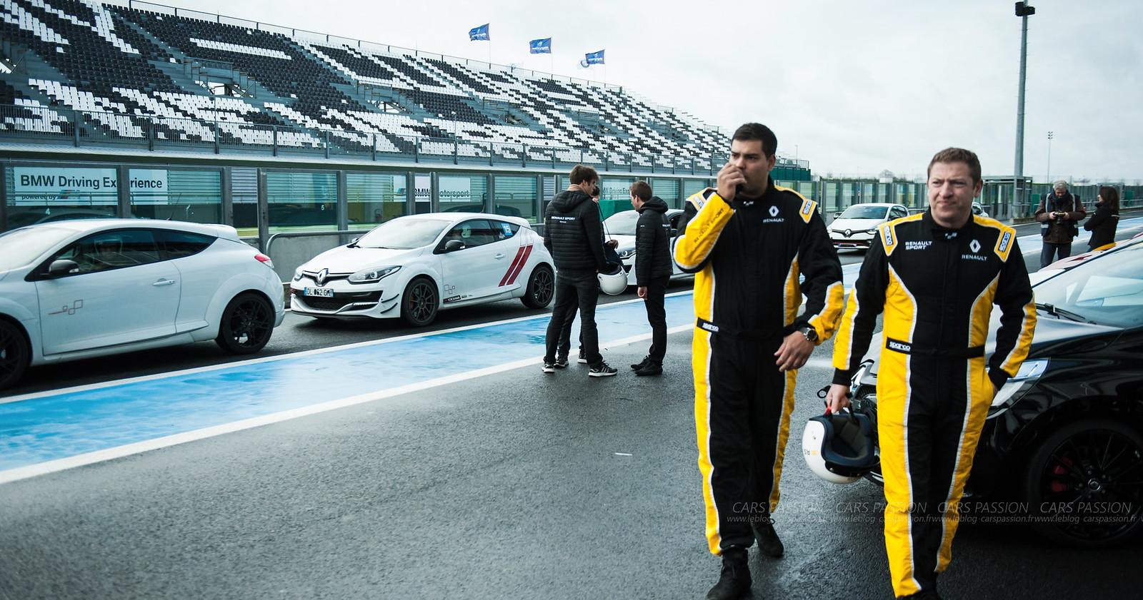 Track days : journées Passion Renault Sport à Magny Cours