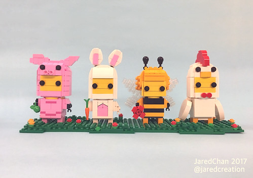 Collectible Animal Suit Brickheadz (2017)